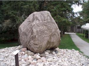 Native Art - Rock Sculpture