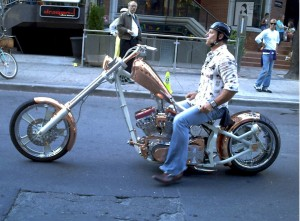 Custom Motorcycle (Photo By Ninja)