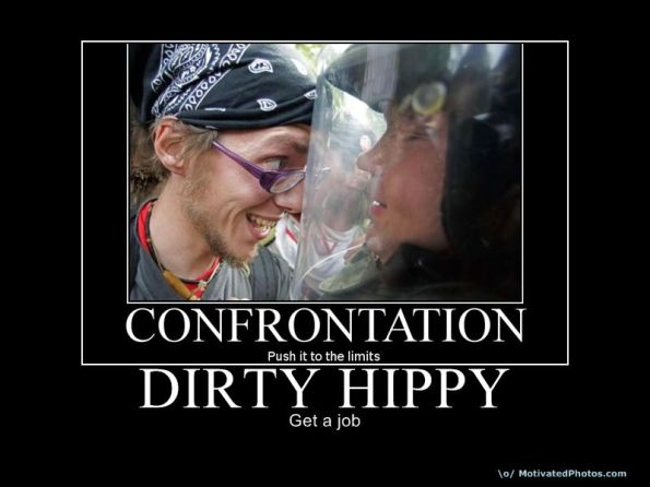 Confrontation - Dirty Hippy - Get a Job