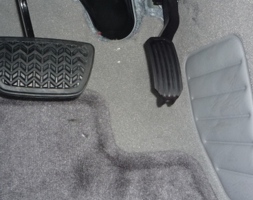 What Toyota does to accelerator pedals
