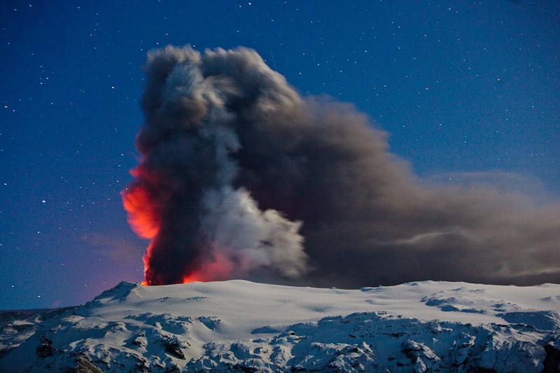 Eyafjallajokull Erupts