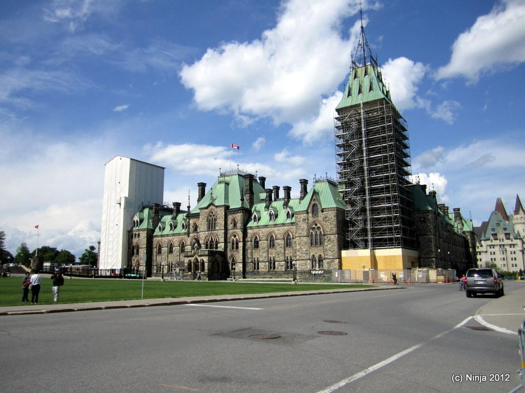 Ottawa - Canada's Captial - Parliament Hill