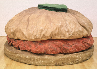 The Floor Burger by Claes Oldenburg