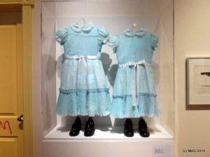 The Twins Costume from The Shining (Taken at TIFF Lightbox - Kubrick Retrospective)